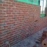 Brick Wall (Bed 1 / Ensuite wall)